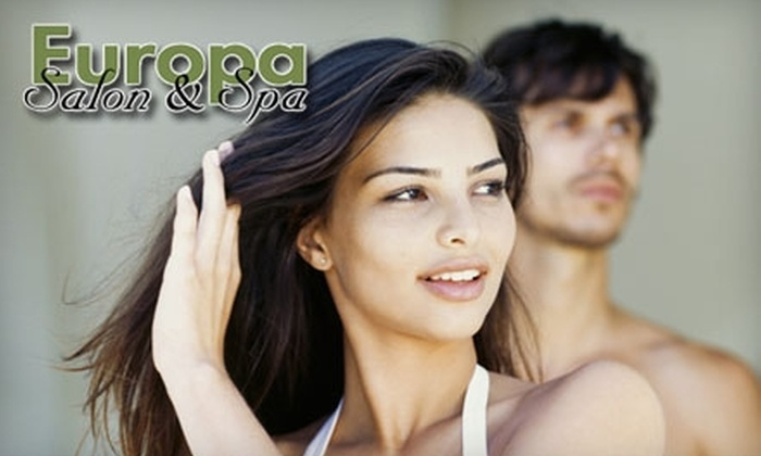 Europa Salon & Spa - Kirkwood: Hair Services at Europa Salon & Spa in Coralville. Choose from Three Options.