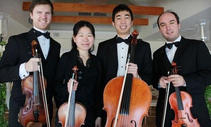 Boston String Quartet - Cincinnati: $15 for Two Tickets to Boston String Quartet Concert ($30 Value)