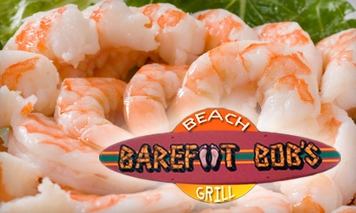 Barefoot Bob's Beach Grill - Boston: $15 for $30 Worth of Grilled Seafood and More at Barefoot Bob's Beach Grill in Hull