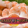 Half Off at Barefoot Bob's Beach Grill in Hull