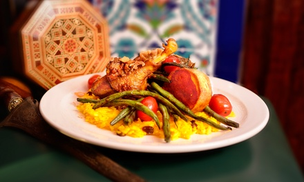 Globally-Inspired Dinner for Two or Four or More at The Tulip and The Rose Cafe (Up to 50% Off)
