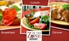 In The Zone Delivery: $19 for One Day of Freshly Prepared Breakfast, Lunch, Dinner, and Snack from In The Zone Delivery (Up to $60 Value)