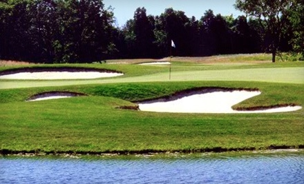 New Albany Links: 18 Holes of Golf with Cart Rental Mon.-Thurs. - New Albany Links Golf Club in New Albany
