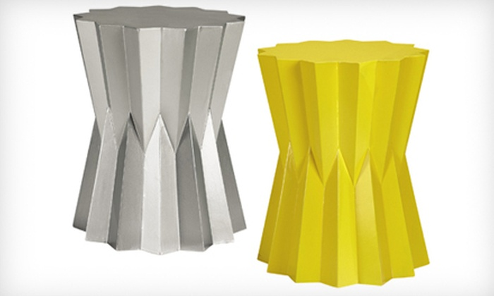 Home Decorators Collection: $129 for a Lavello Accent Table in Silver or Yellow. Shipping Included ($194 Total Value)