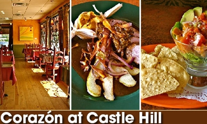 Corazon at Castle Hill - Old West Austin: $15 for $30 Worth of Tasty Eats and Drinks at Corazon at Castle Hill