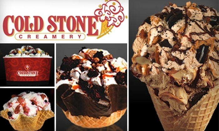 Cold Stone Creamery  - San Fernando: $5 for $10 Worth of Cold Stone Creamery Ice Cream