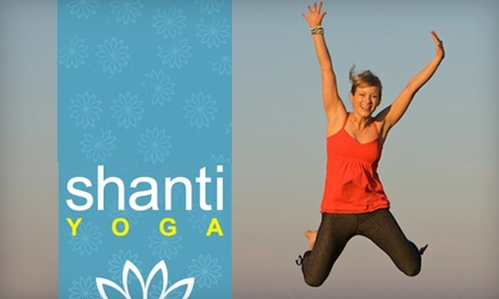 Shanti Yoga - Tsawwassen: $39 for One Month of Unlimited Yoga at Shanti Yoga in Tsawwassen