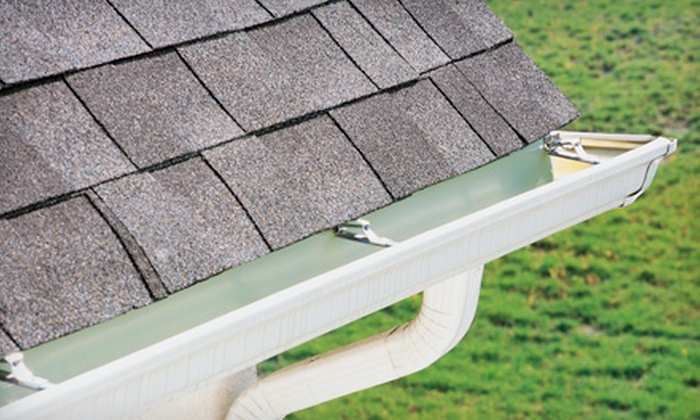 Lammes Roofing - Peachtree City: Gutter and Downspout Cleaning for a One-, Two-, or Three-Story Home from Lammes Roofing (Up to 72% Off)