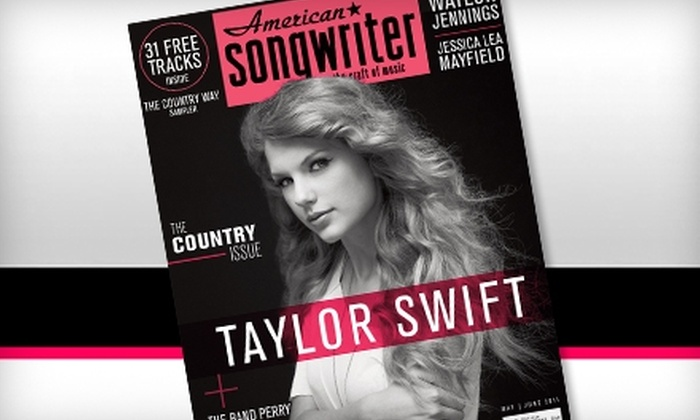 """American Songwriter"" Magazine: $5 for a One-Year Subscription to ""American Songwriter"" Magazine ($12 Value)"