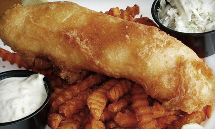Sandbar Waterfront Grill - Lakeshore: $20 for $40 Worth of Pub Fare and Drinks at Sandbar Waterfront Grill in Belle River