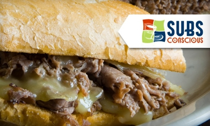 SubsConscious - Multiple Locations: $4 for $8 Worth of Sandwiches, Salads, and Desserts at SubsConscious
