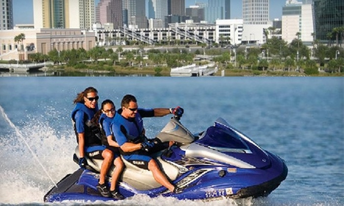Channelside Watersports - Tampa Heights: $50 for Your Choice of Boat, WaveRunner, or Kayak Rental from Channelside Watersports' Downtown Location (Up to $100 Value)