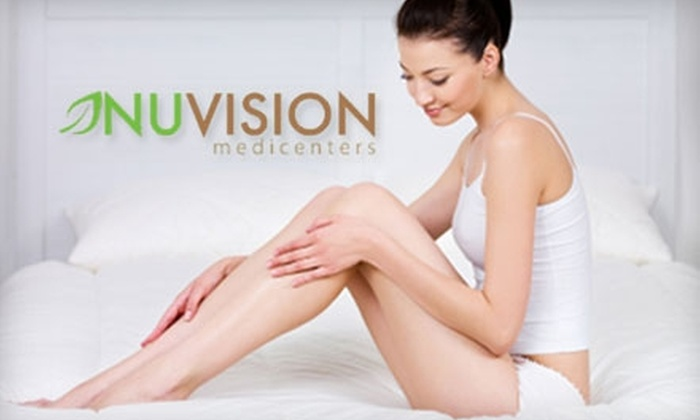 Nuvision Medspa - Midtown Center: Up to 83% Off Laser Hair Removal & Spa Services at NuVision Medspa. Choose from Four Options.