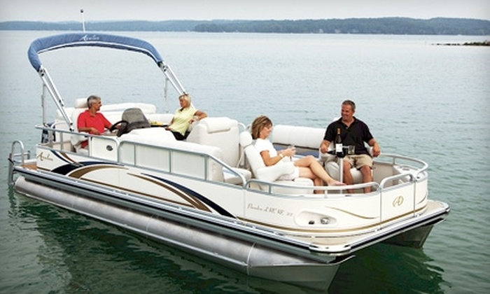 Bartlett Lake Marina - Phoenix: $140 for a Full-Day Pontoon Boat Rental on Bartlett Lake from Bartlett Lake Marina ($280 Value)