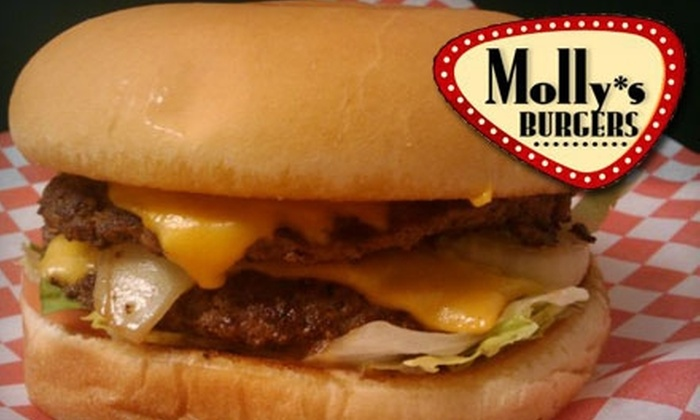 Molly's Burgers - Southwest Arlington: $6 for $12 Worth of Burgers and More at Molly's Burgers & Shakes