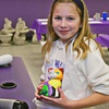 The Painted Penguin- Bloomingdale - Buford: $15 Worth of Paint-Your-Own Ceramics