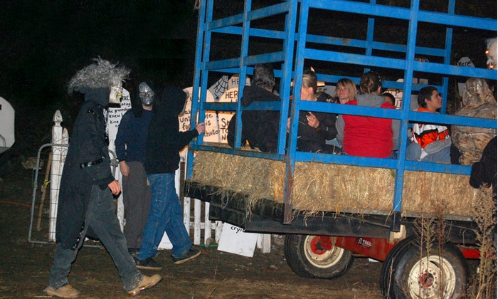 Fairview Tree Farm - Shelton: Haunted Hayride for Two or Four at Fairview Tree Farm (Up to Half Off)