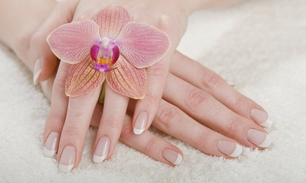 Shellac Manicure, Pedicure or Both at LM Hair London (Up to 37% Off)
