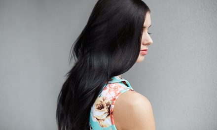 Wash, Style Cut and Blow-Dry ($29) with Treatment ($39) and Half-Head Foils ($69) at Blackpink Hair (Up to $300 Value)