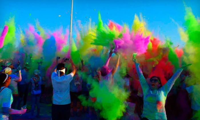 Color Fun Fest 5K - Lincoln Park: Day or Night 5K Run from Color Fun Fest on Saturday, May 11 (Up to 56% Off)