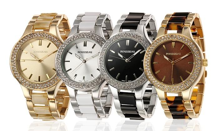 rousseau women s watch groupon goods rousseau andrea collection women s watch rousseau andrea collection women s watch