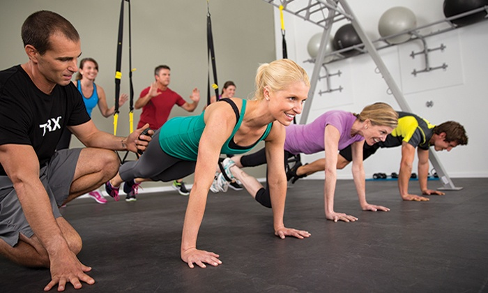 Fit Body Boot Camp - Carmel: Two Weeks of Unlimited Boot-Camp Sessions or Five Weeks Plus a Fitness E-Book at Fit Body Boot Camp (Up to 87% Off)
