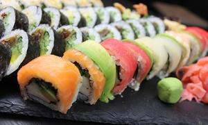 Goma Sushi: Japońska uczta: 28 kawałków sushi i 2 sałatki za 69,99 zł oraz więcej opcji w Goma Sushi