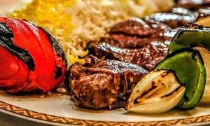 Alborz Restaurant: Persian and Greek Cuisine at Alborz Restaurant (Up to 52% Off). Four Options Available.