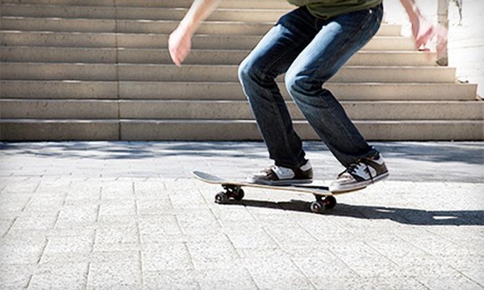 Help Boardshop - Edina: $25 for 10 Skate Park Visits at Help Boardshop ($50 Value)