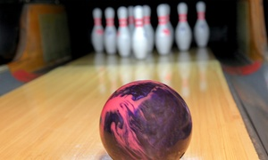 Stars and Strikes: Bowling, Game Cards, and Two or Six Bumper Car Passes at Stars and Strikes (Up to 58% Off)