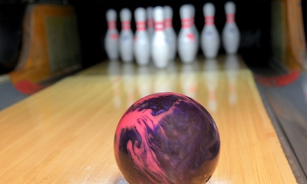 $23 for One Hour of Bowling for Up to 4 with Pizza, Drinks, and Shoe Rental at Cheney Lanes ($47 Value)