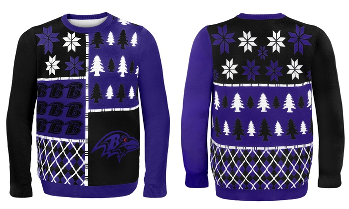 Nfl Ugly Sweaters Busy Block Groupon