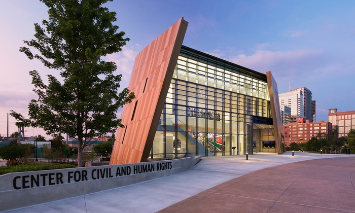 Center for Civil and Human Rights - The Center for Civil and Human Rights: Two or Four Entries to the Center for Civil and Human Rights (40% Off)