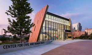 Center for Civil and Human Rights: Two or Four Entries to the Center for Civil and Human Rights (Up to 37% Off)