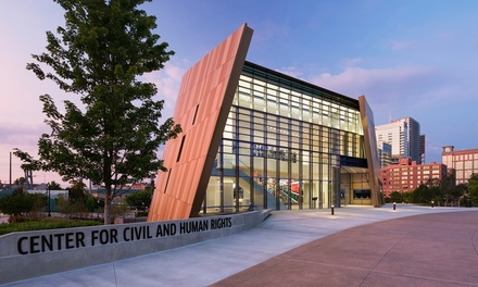 Two or Four Entries to the Center for Civil and Human Rights (40% Off)