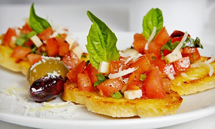 La Vita E Bella Cafe - Belltown: Two-Course Dinner with Wine for Two, or $20 for $40 Worth of Italian Cuisine at La Vita E Bella Cafe