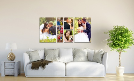 Custom Photo Printed on Metal from Picture it on Canvas from $5–$40