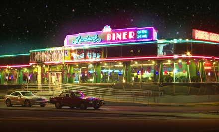 $25 Groupon to Landmark Diner and Landmark's Broadway Diner - Landmark Diner and Landmark's Broadway Diner in Atlanta