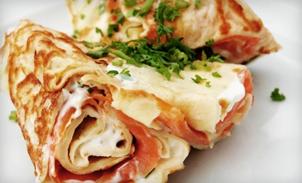 Two Savory Crepes of Your Choice - Taste Crepes & More in San Antonio