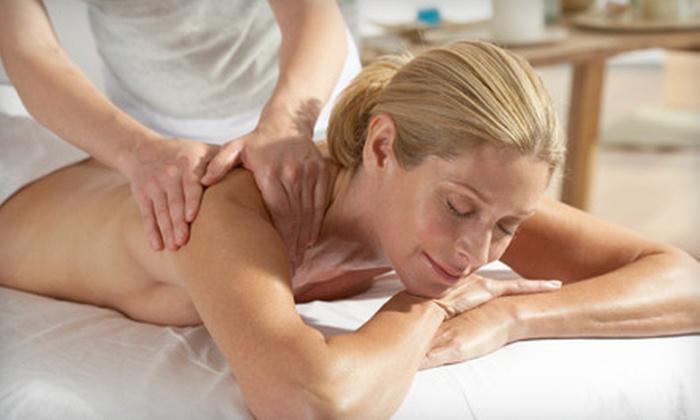 Posh Salon and Spa - Spanish Tril Plaza: Deep-Tissue Massage, Swedish Massage, or Swedish Massage with Body Scrub at Posh Salon and Spa (Up to 60% Off)