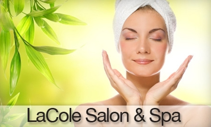 LaCole Salon & Spa - Seaford: $55 for a Body Treatment ($110 Value) or $15 for a Blow-Out ($30 Value) at LaCole Salon & Spa