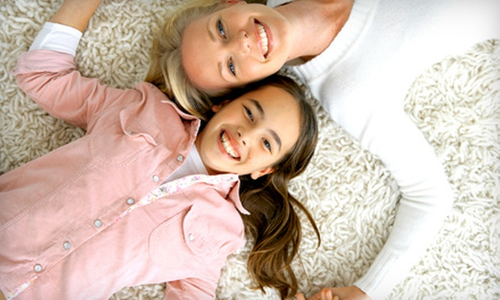 All Fresh - Abbotsford: $59 for Three-Room Carpet Cleaning from All Fresh ($125 Value)