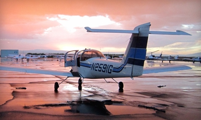 Cox Aviation - Henderson: $150 for Two 45-Minute Flight Lessons, Two Hours of Ground School, and a Logbook at Cox Aviation in Henderson ($305 Value)