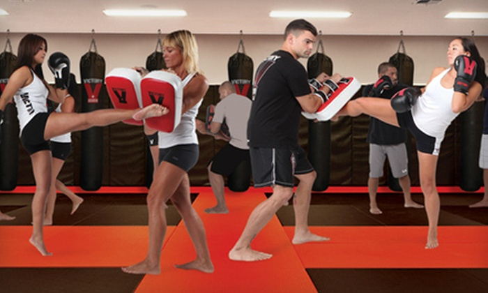 Victory MMA and Fitness - Midway District: $20 for a One-Month Membership and One Private Training Session at Victory MMA and Fitness ($139 Value)