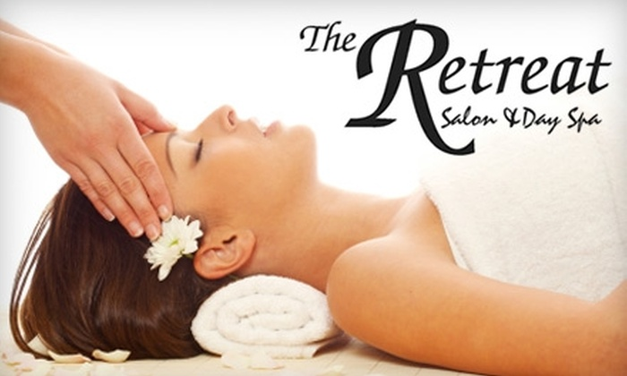 The Retreat Salon & Day Spa - Avery Road Retail Center: $75 for a 90-Minute Salt Glow Full-Body Massage at The Retreat Salon & Day Spa ($150 value)