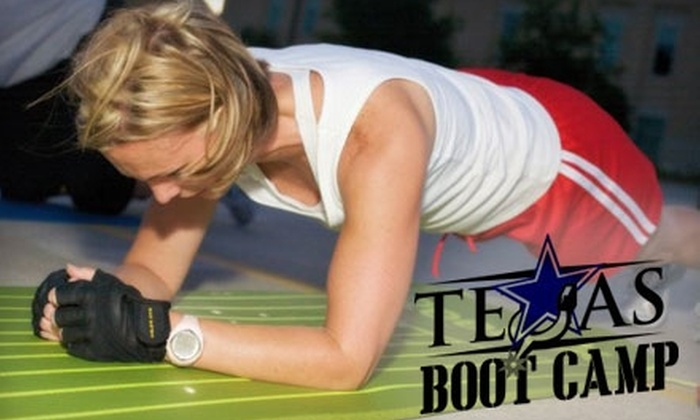 Texas Boot Camp - Multiple Locations: $40 for Four Weeks of Unlimited Classes from Texas Boot Camp (Up to $180 Value)