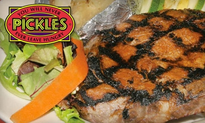 Pickles Steakhouse - Upper Milford: $8 for $20 Worth of Steak, Drinks, and More at Pickles Steakhouse