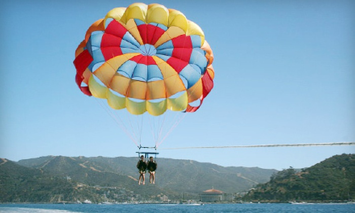 Island Water Charters - Avalon: $65 for a Parasailing Trip for Two from Island Water Charters in Avalon ($130 Value)