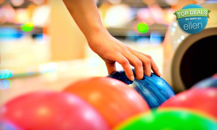 Magnolia Lanes - Griffin: Bowling Outing with Shoes and Soda for Three or Six or Bowling Party Package at Magnolia Lanes (Up to 68% Off)