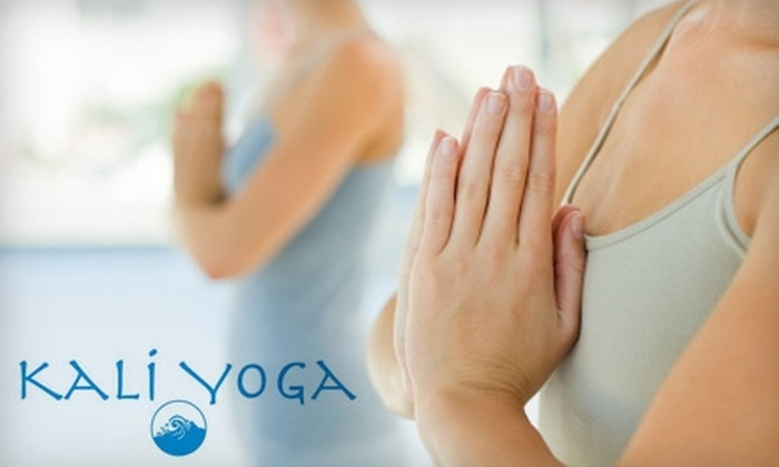 KaliYoga - Wilbraham: $50 for One Month of Unlimited Yoga and Pilates Classes at KaliYoga in Wilbraham
